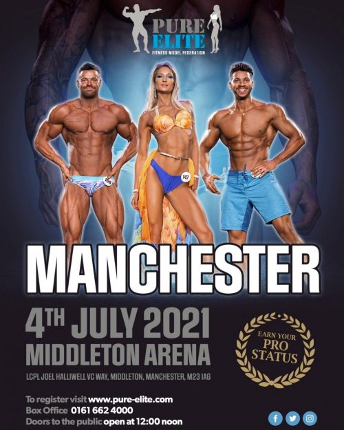 Pure Elite 4th July Manchester